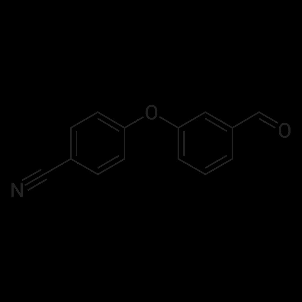 4-(3-Formylphenoxy)benzonitrile