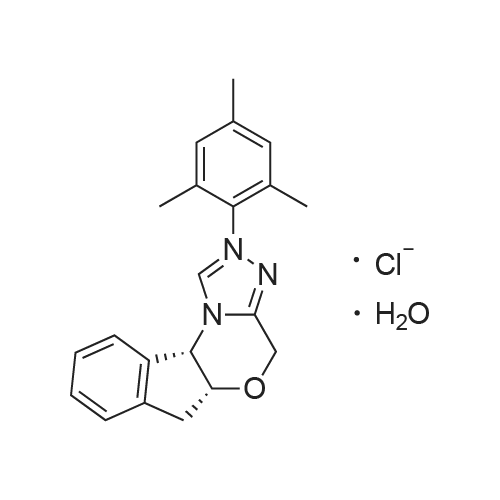 (5aR,10bS)-2-Mesityl-4,5a,6,10b-tetrahydroindeno[2,1-b][1,2,4]triazolo[4,3-d][1,4]oxazin-2-ium chloride hydrate