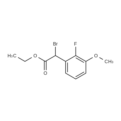 Ethyl 2-bromo-2-(2-fluoro-3-methoxyphenyl)acetate
