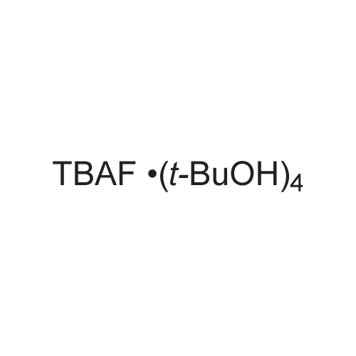 Tetrabutylammonium fluoride tetra-2-methylpropan-2-ol complex