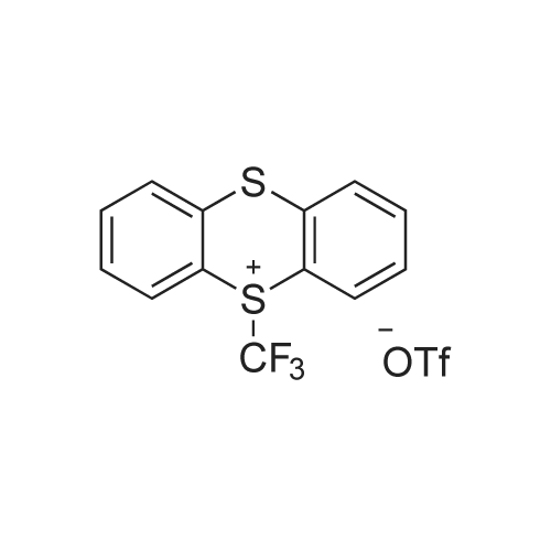 5-(Trifluoromethyl)-5H-thianthren-5-ium trifluoromethanesulfonate