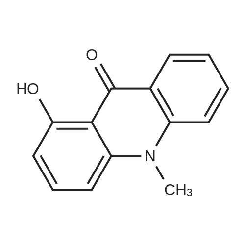 1-Hydroxy-10-methylacridin-9(10H)-one