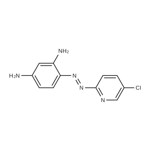 4-((5-Chloropyridin-2-yl)diazenyl)benzene-1,3-diamine