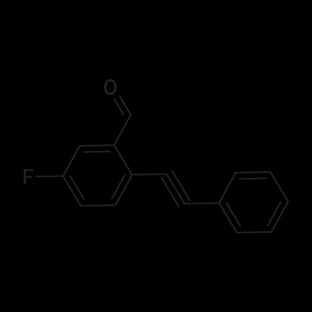 5-Fluoro-2-(phenylethynyl)benzaldehyde