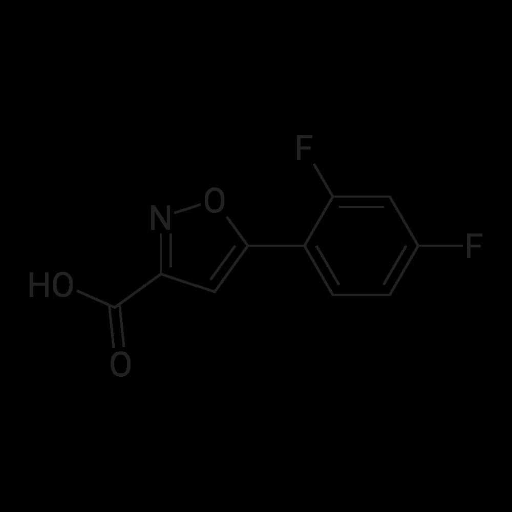 5-(2,4-Difluorophenyl)isoxazole-3-carboxylic acid