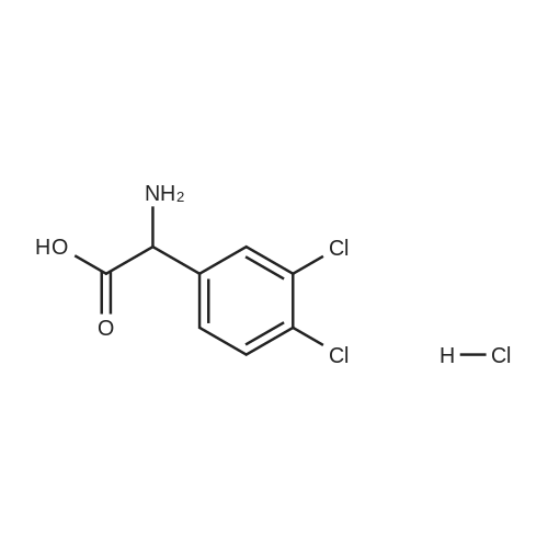2-Amino-2-(3,4-dichlorophenyl)acetic acid hydrochloride
