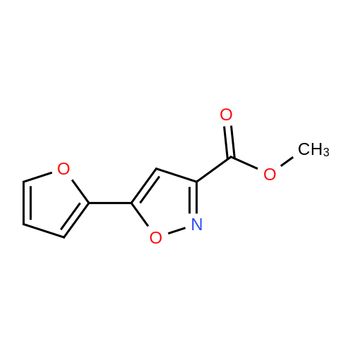 Methyl 5-(furan-2-yl)isoxazole-3-carboxylate