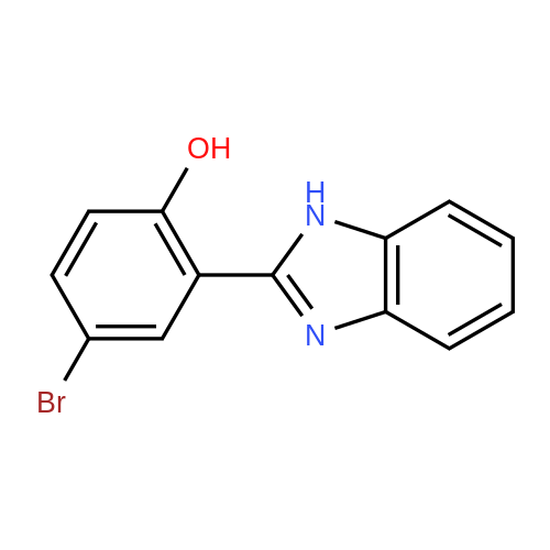 2-(1H-Benzo[d]imidazol-2-yl)-4-bromophenol