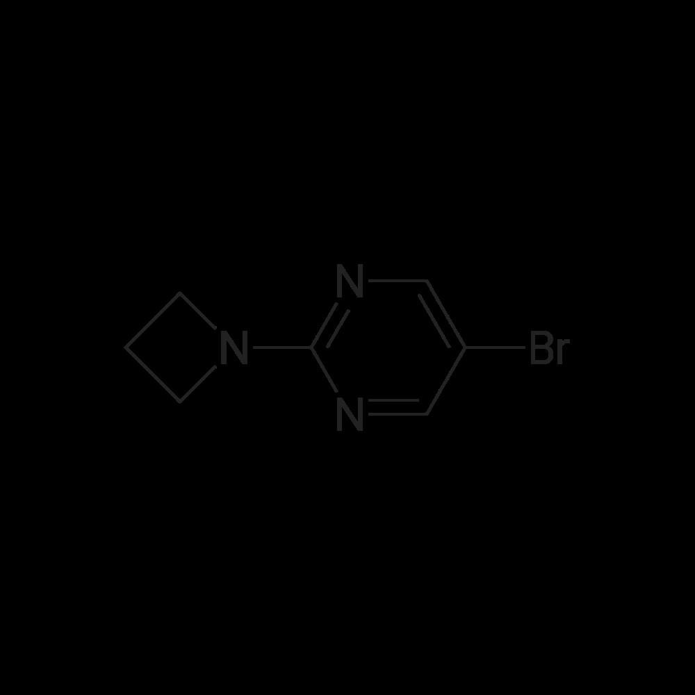 2-(Azetidin-1-yl)-5-bromopyrimidine