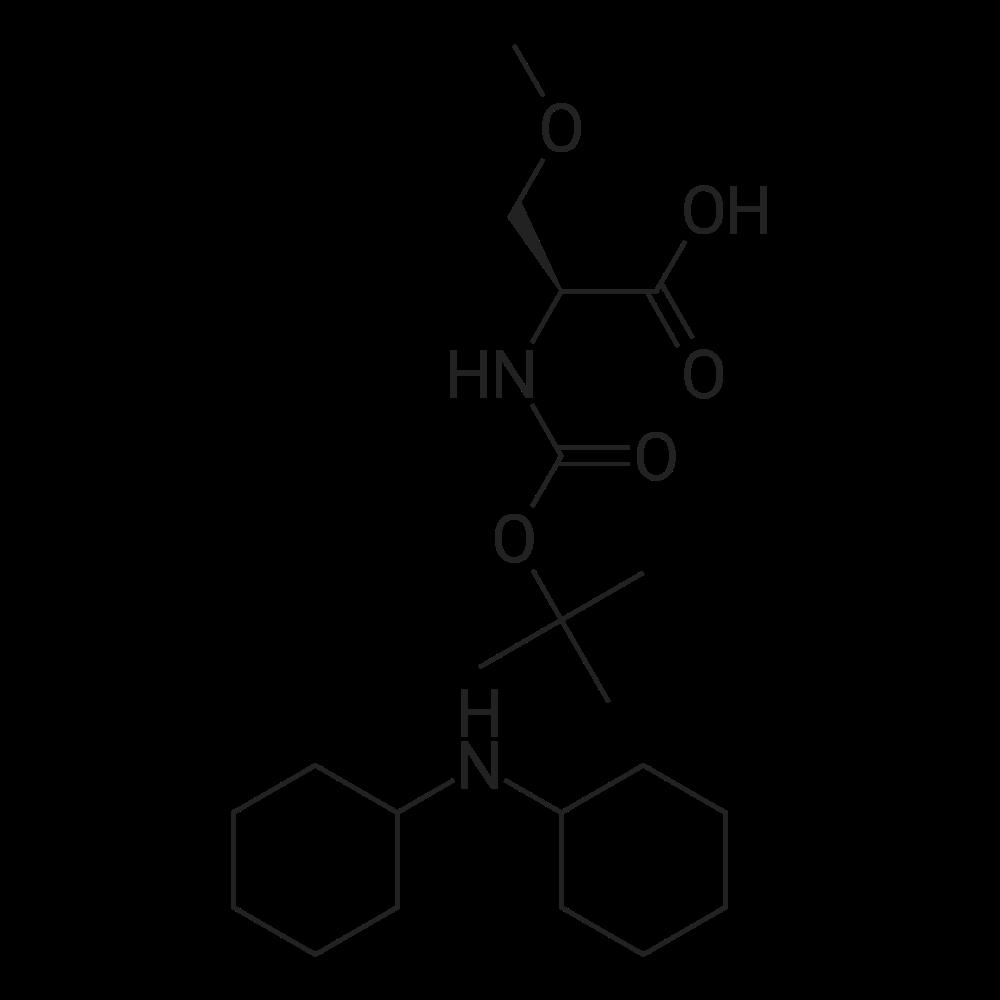 Dicyclohexylamine (S)-2-((tert-butoxycarbonyl)amino)-3-methoxypropanoate