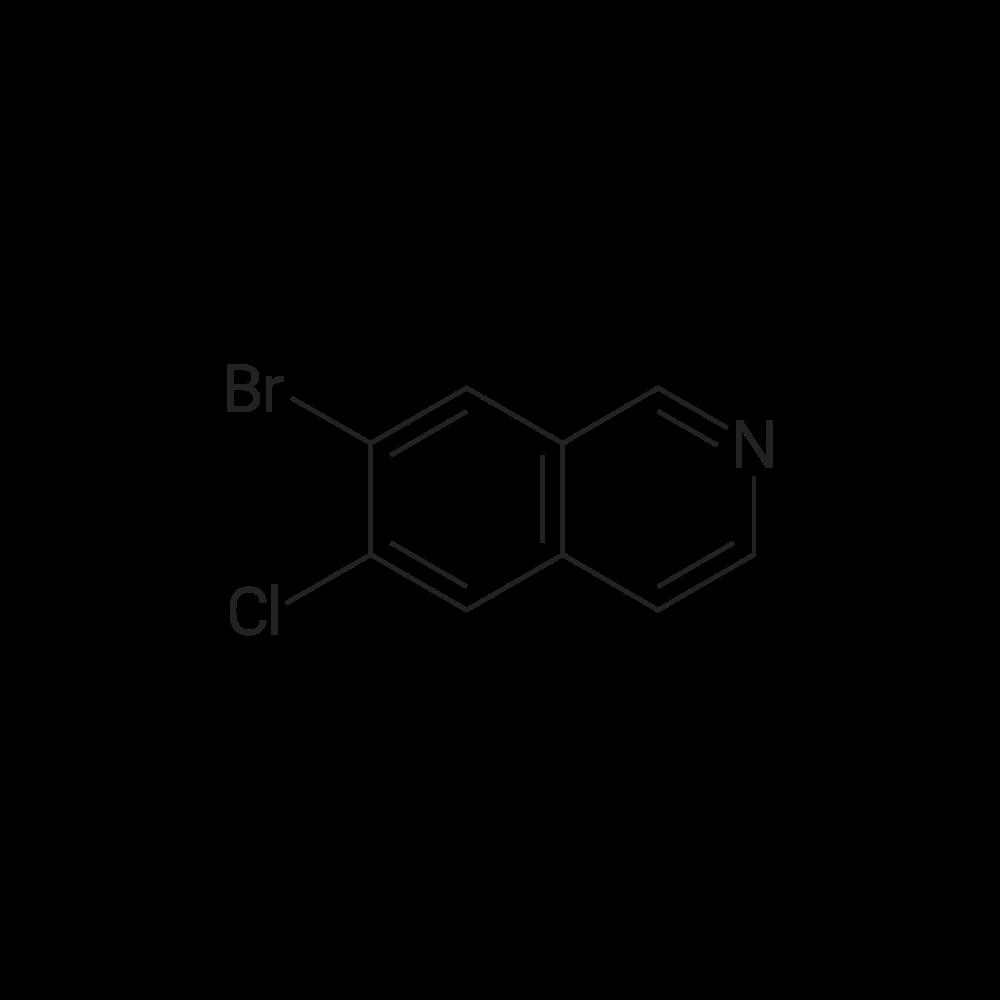 7-Bromo-6-chloroisoquinoline