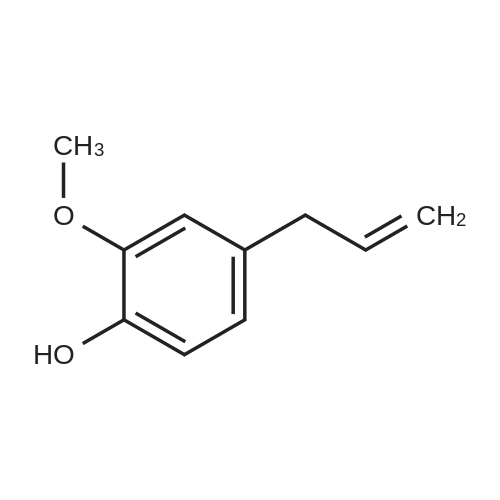 Chemical Structure| 97-53-0