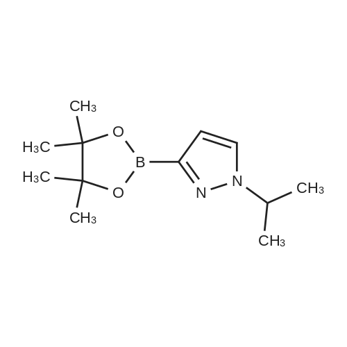1-Isopropyl-3-(4,4,5,5-tetramethyl-1,3,2-dioxaborolan-2-yl)-1H-pyrazole