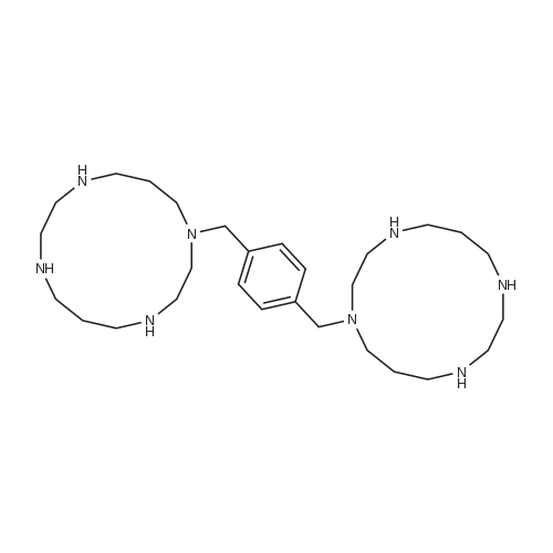 1,4-Bis((1,4,8,11-tetraazacyclotetradecan-1-yl)methyl)benzene