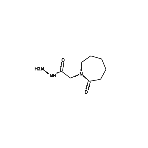2-(2-Oxoazepan-1-yl)acetohydrazide