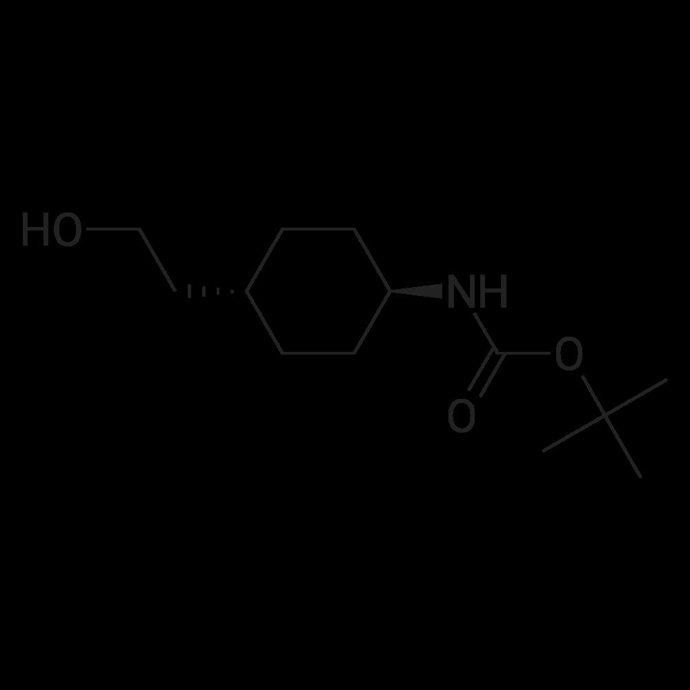 tert-Butyl (trans-4-(2-hydroxyethyl)cyclohexyl)carbamate