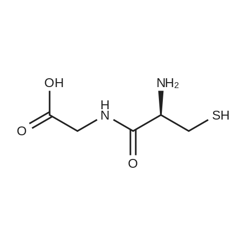 (R)-2-(2-Amino-3-mercaptopropanamido)acetic acid