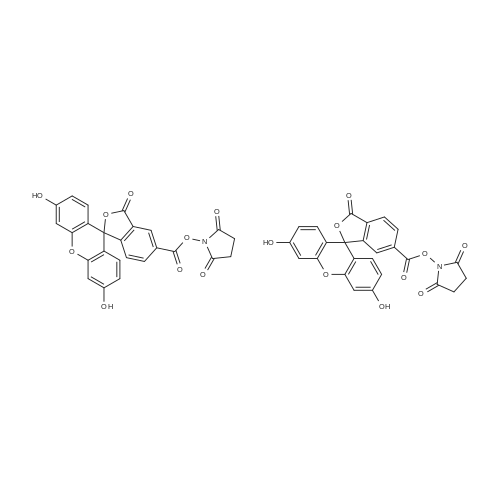 5(6)-Carboxyfluorescein N-hydroxysuccinimide ester