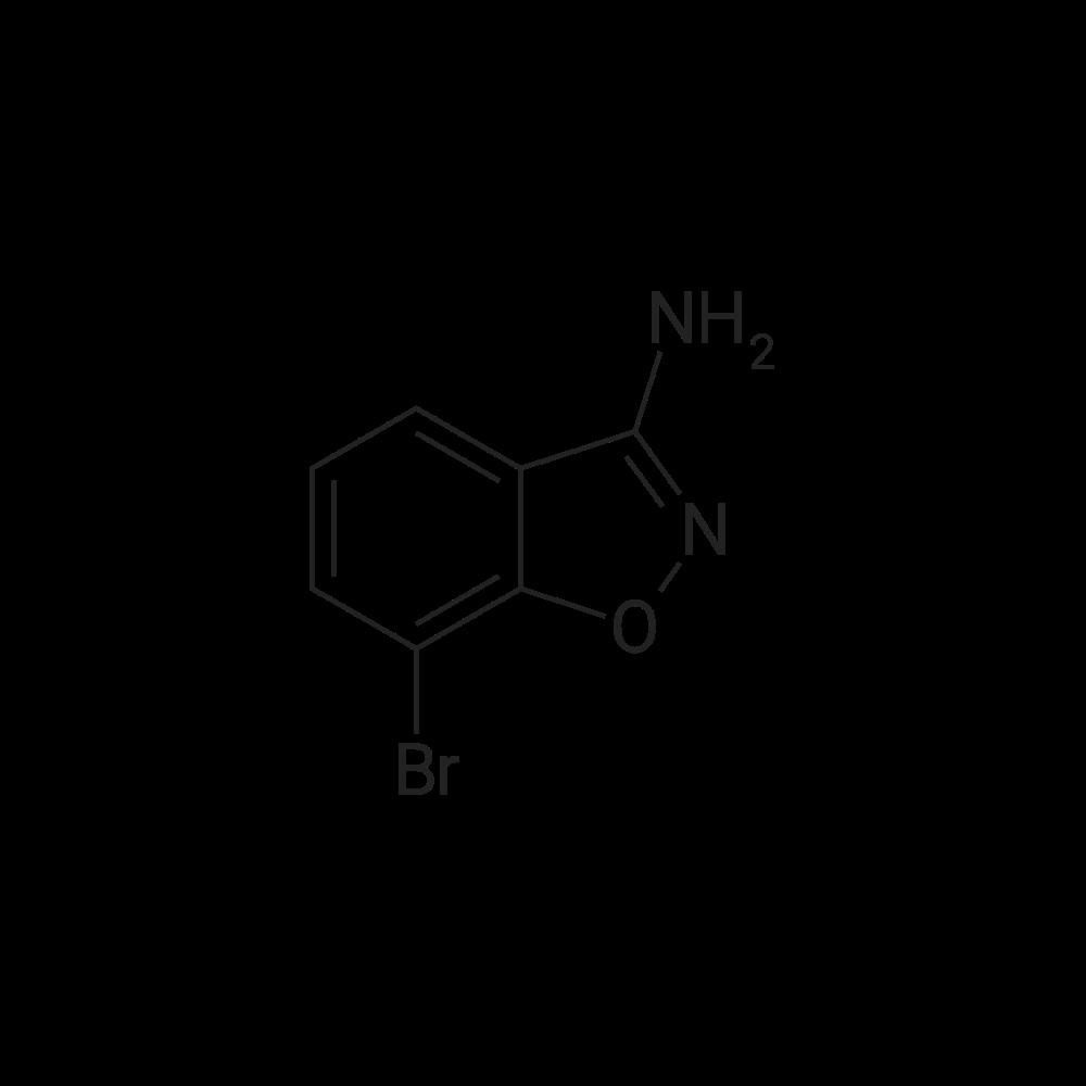 7-Bromobenzo[d]isoxazol-3-amine