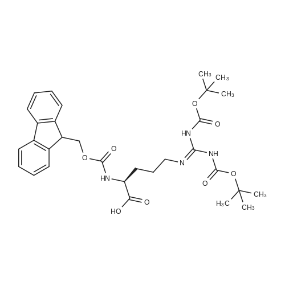 (S)-5-[[Bis(Boc-amino)methylene]amino]-2-(Fmoc-amino)pentanoic Acid