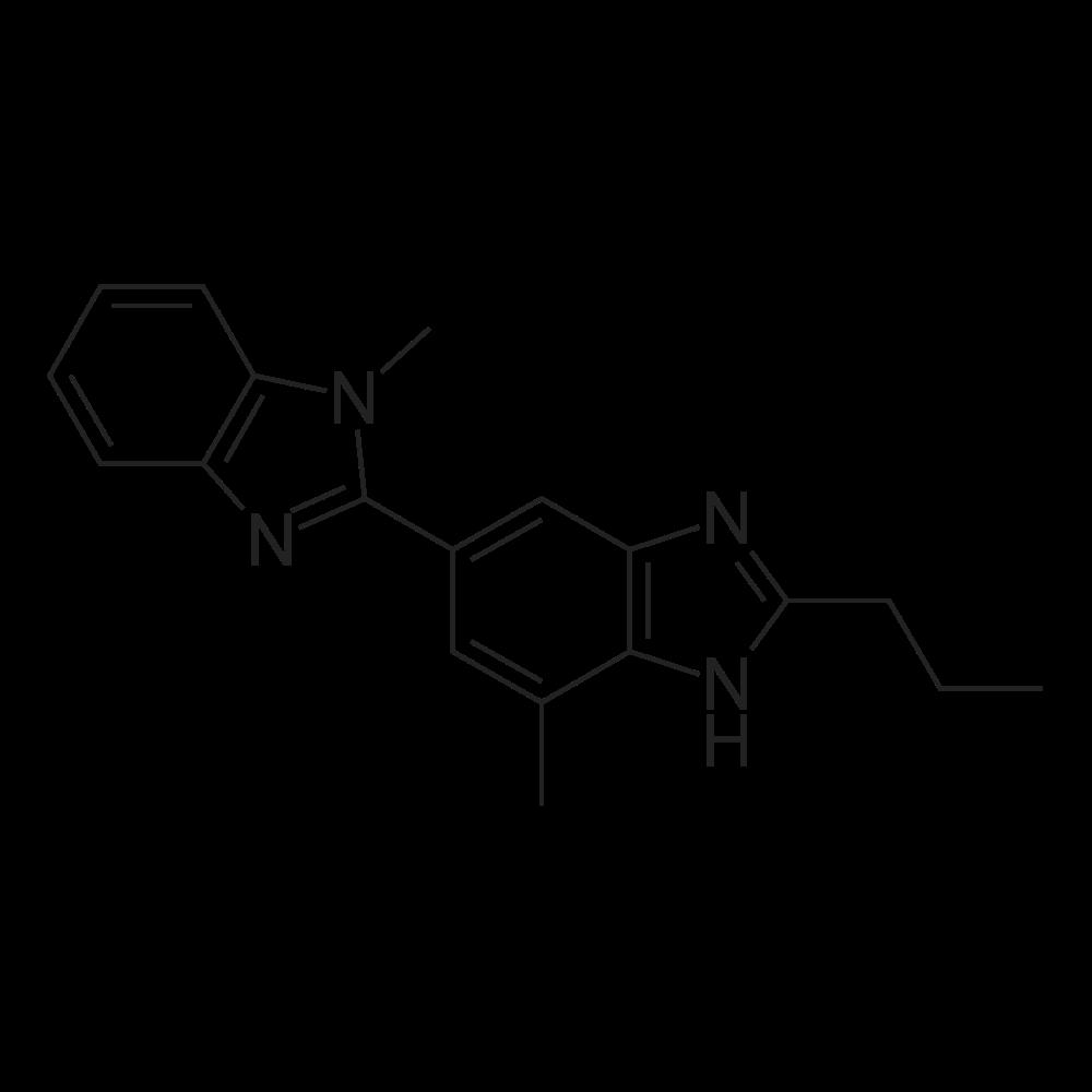 1,7'-Dimethyl-2'-propyl-1H,1'H-2,5'-bibenzo[d]imidazole