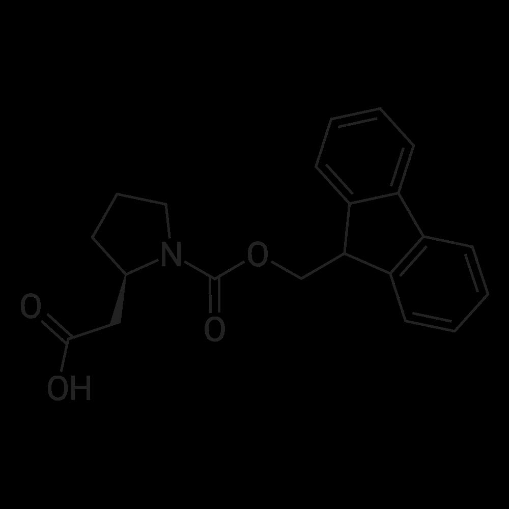 (R)-2-(1-(((9H-Fluoren-9-yl)methoxy)carbonyl)pyrrolidin-2-yl)acetic acid