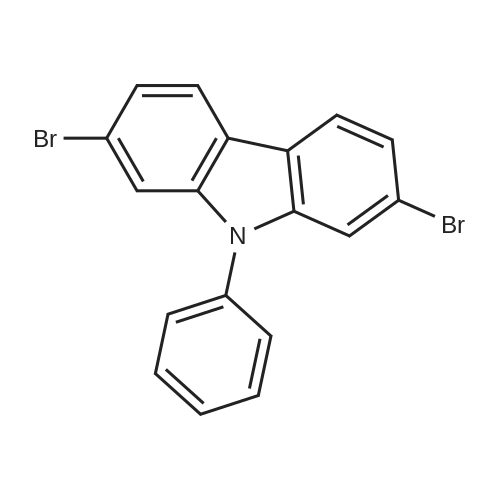 2,7-Dibromo-9-phenyl-9H-carbazole