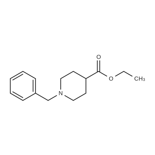 Ethyl N-benzylpiperidine-4-carboxylate