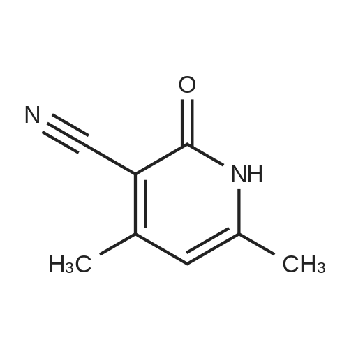 4,6-Dimethyl-2-oxo-1,2-dihydropyridine-3-carbonitrile
