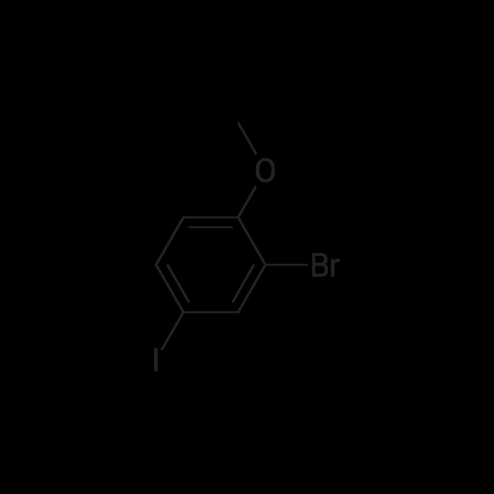 2-Bromo-4-iodo-1-methoxybenzene
