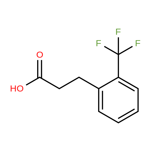 3-[2-(Trifluoromethyl)phenyl]propanoic acid