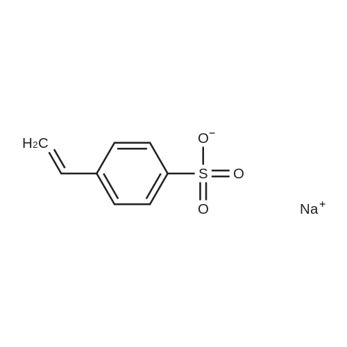 Sodium 4-vinylbenzenesulfonate