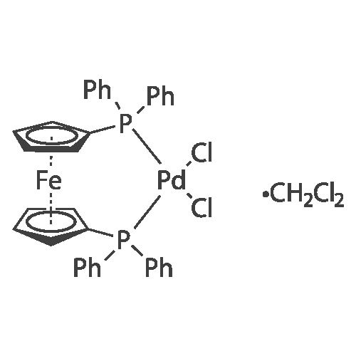 1,1'-Bis(diphenylphosphino)ferrocene-palladium(II)dichloride dichloromethane complex