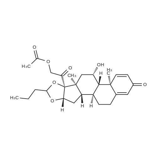 (11b,16a)-21-(Acetyloxy)-16,17-[butylidenebis(oxy)]-11-hydroxy-pregna-1,4-diene-3,20-dione