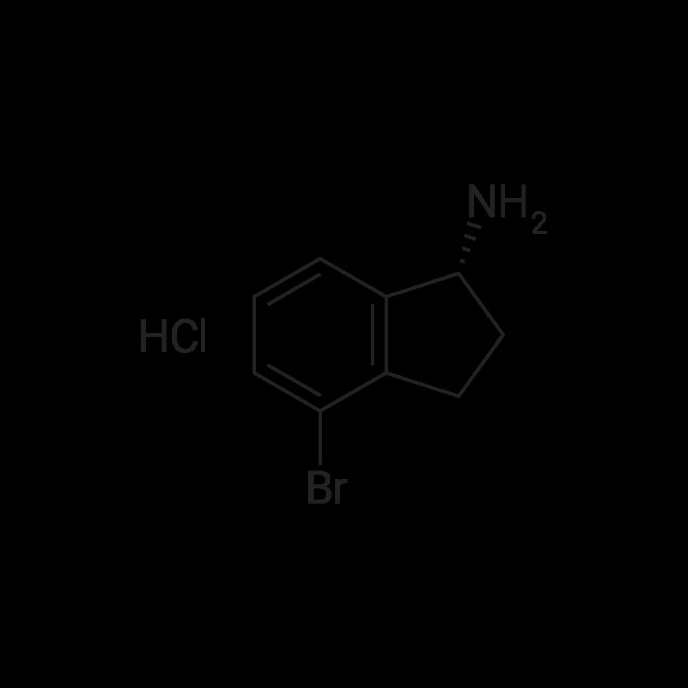 (R)-4-Bromo-2,3-dihydro-1H-inden-1-amine hydrochloride