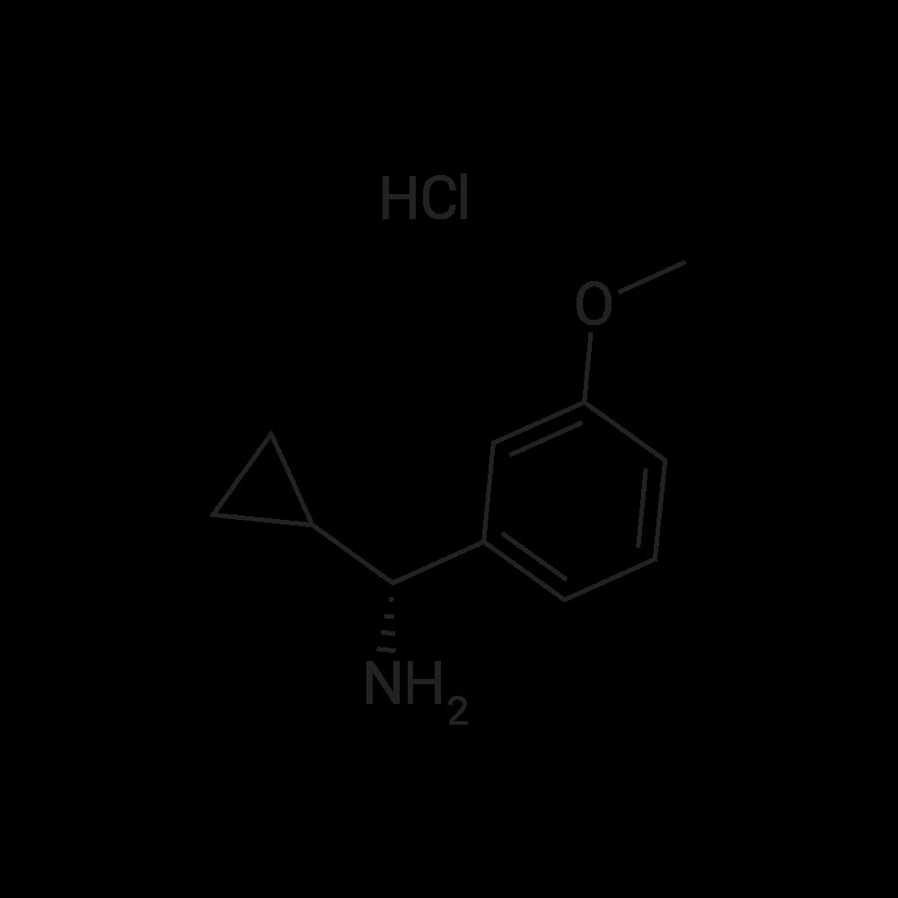 (R)-Cyclopropyl(3-methoxyphenyl)methanamine hydrochloride