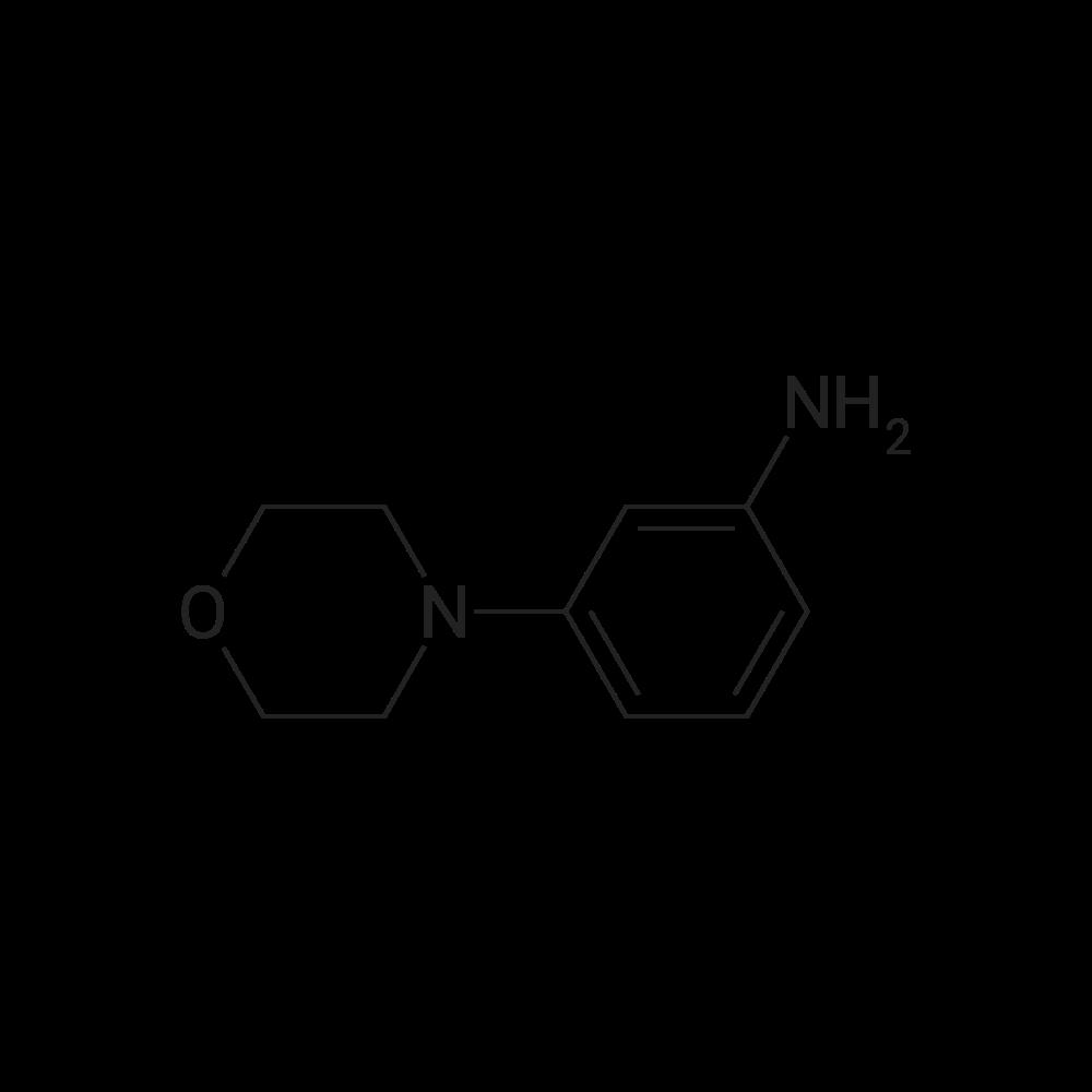 3-(4-Morpholinyl)aniline