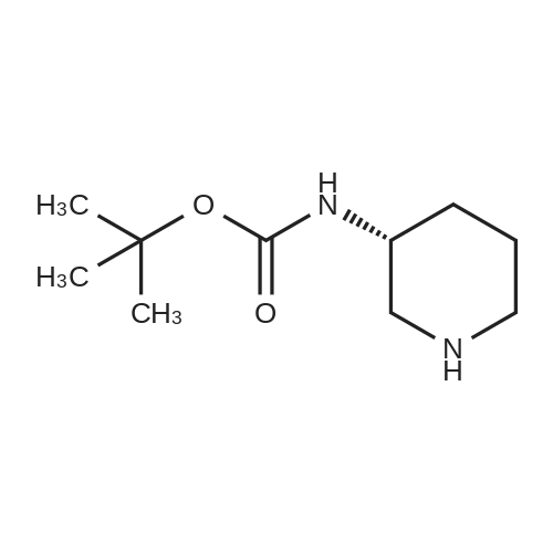 (R)-tert-Butyl piperidin-3-ylcarbamate