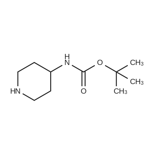 tert-Butyl piperidin-4-ylcarbamate