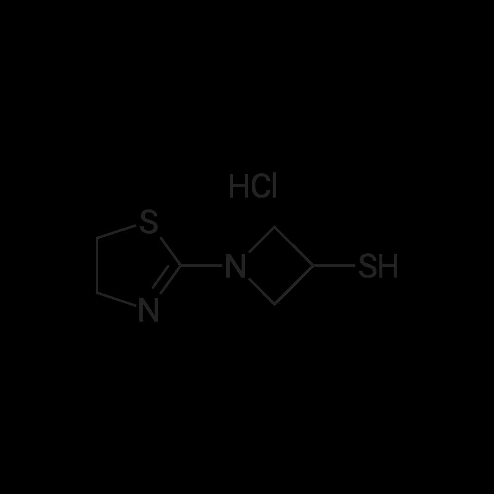 1-(4,5-Dihydrothiazol-2-yl)azetidine-3-thiol hydrochloride