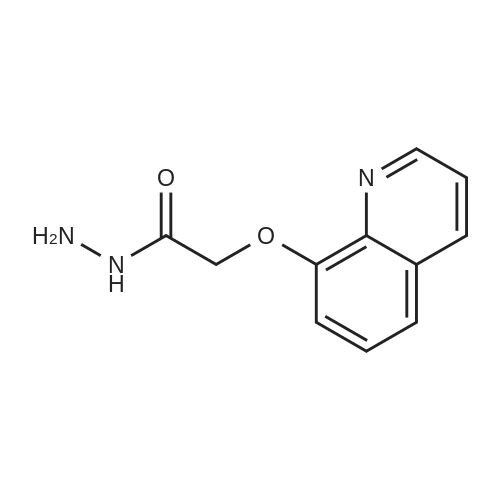 2-(Quinolin-8-yloxy)acetohydrazide