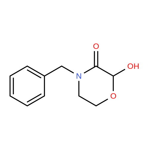 4-Benzyl-2-hydroxymorpholin-3-one