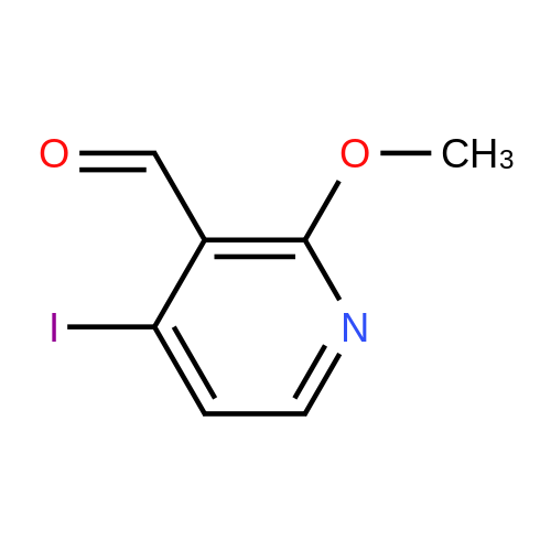 4-Iodo-2-methoxynicotinaldehyde