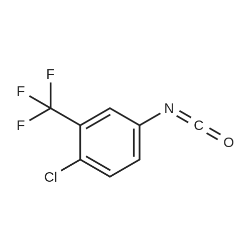 4-Chloro-3-(trifluoromethyl)phenylisocyanate