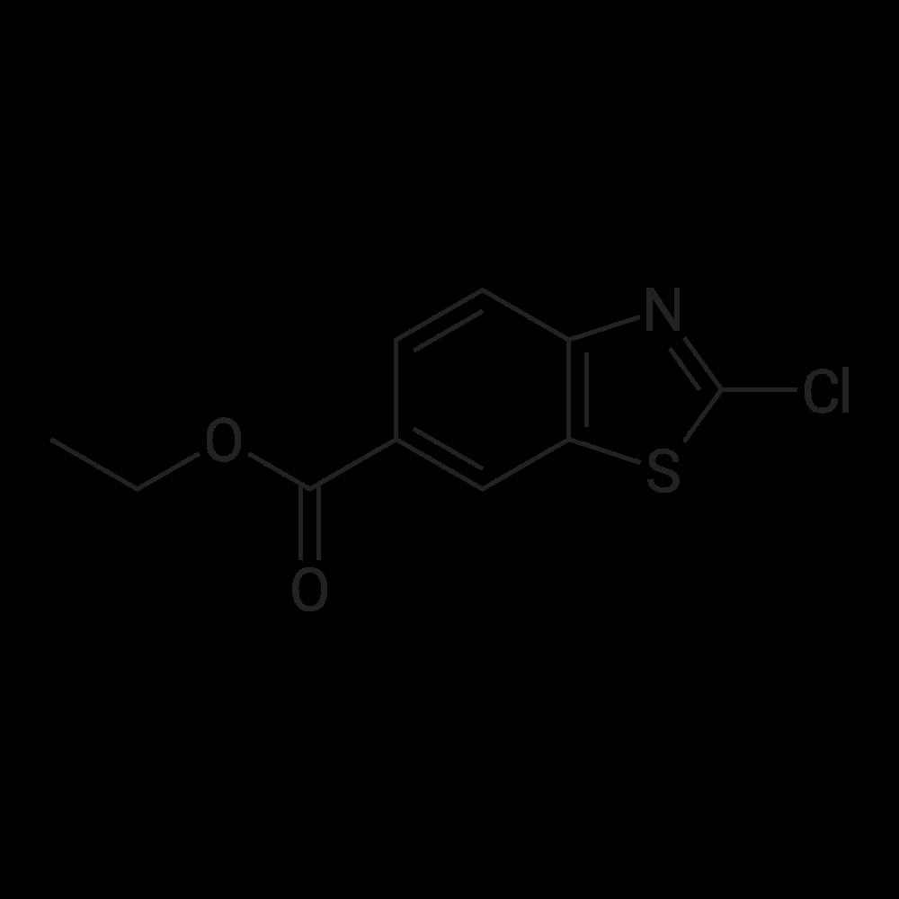 Ethyl 2-chloro-6-benzothiazolecarboxylate