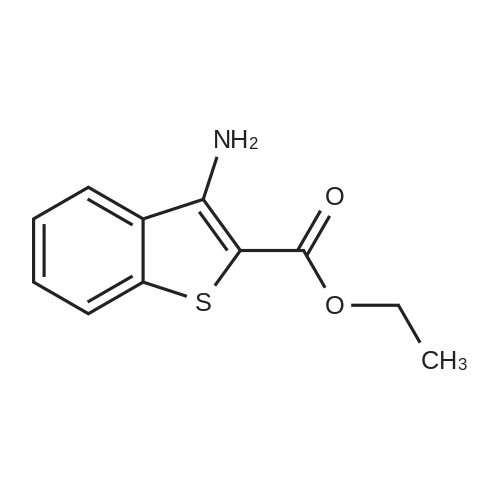 Ethyl 3-aminobenzo[b]thiophene-2-carboxylate