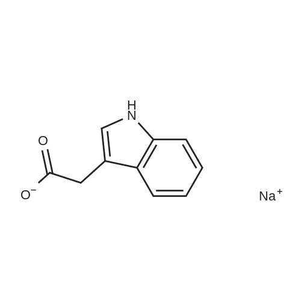 Sodium 2-(1H-indol-3-yl)acetate