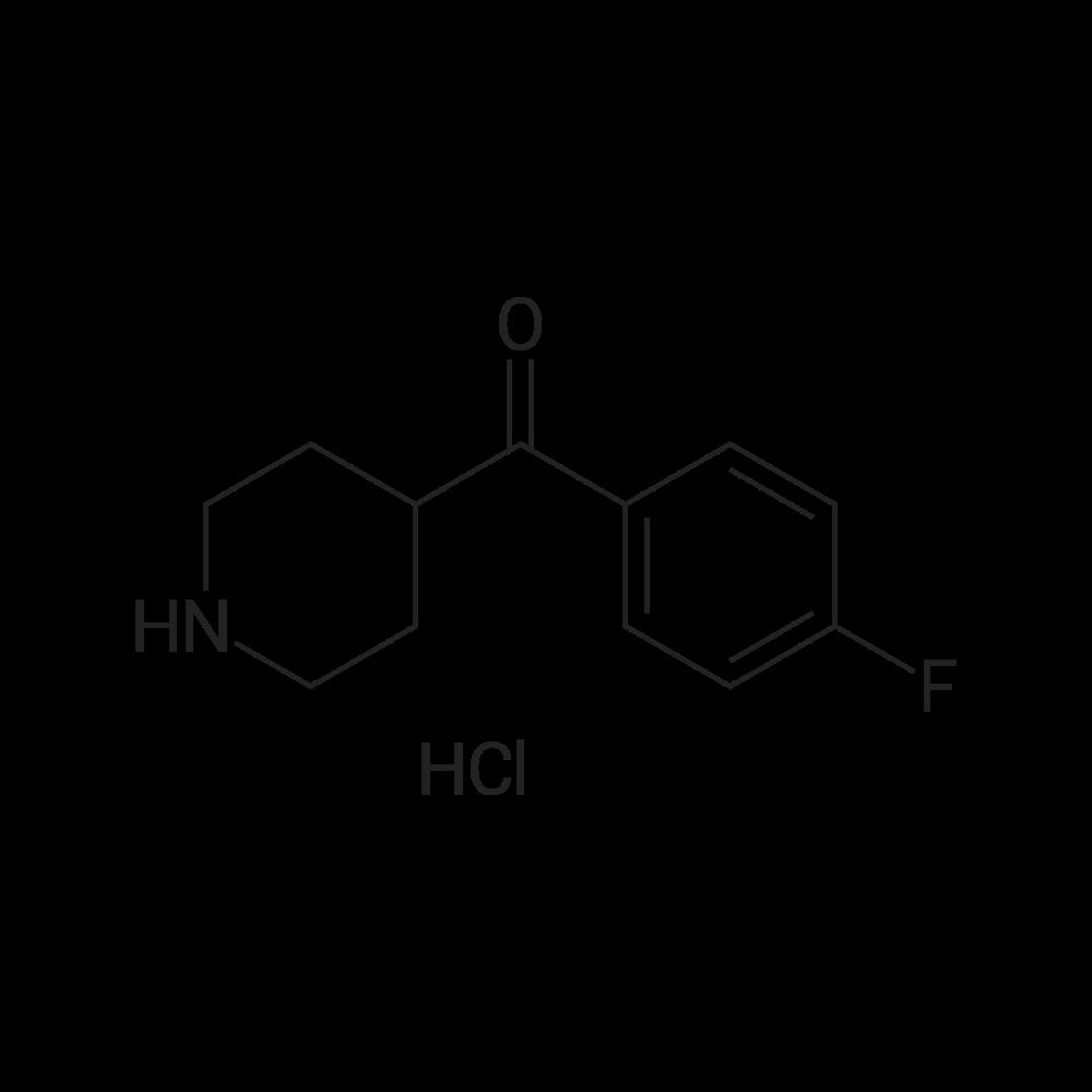(4-Fluorophenyl)(piperidin-4-yl)methanone hydrochloride