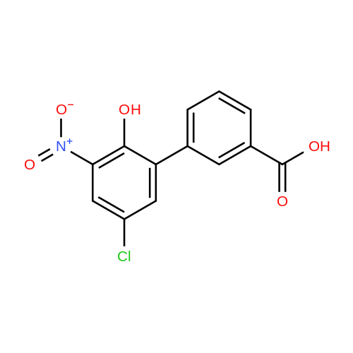 5'-Chloro-2'-hydroxy-3'-nitro-[1,1'-biphenyl]-3-carboxylic acid