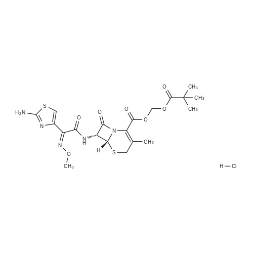 Cefetamet pivoxil hydrochloride